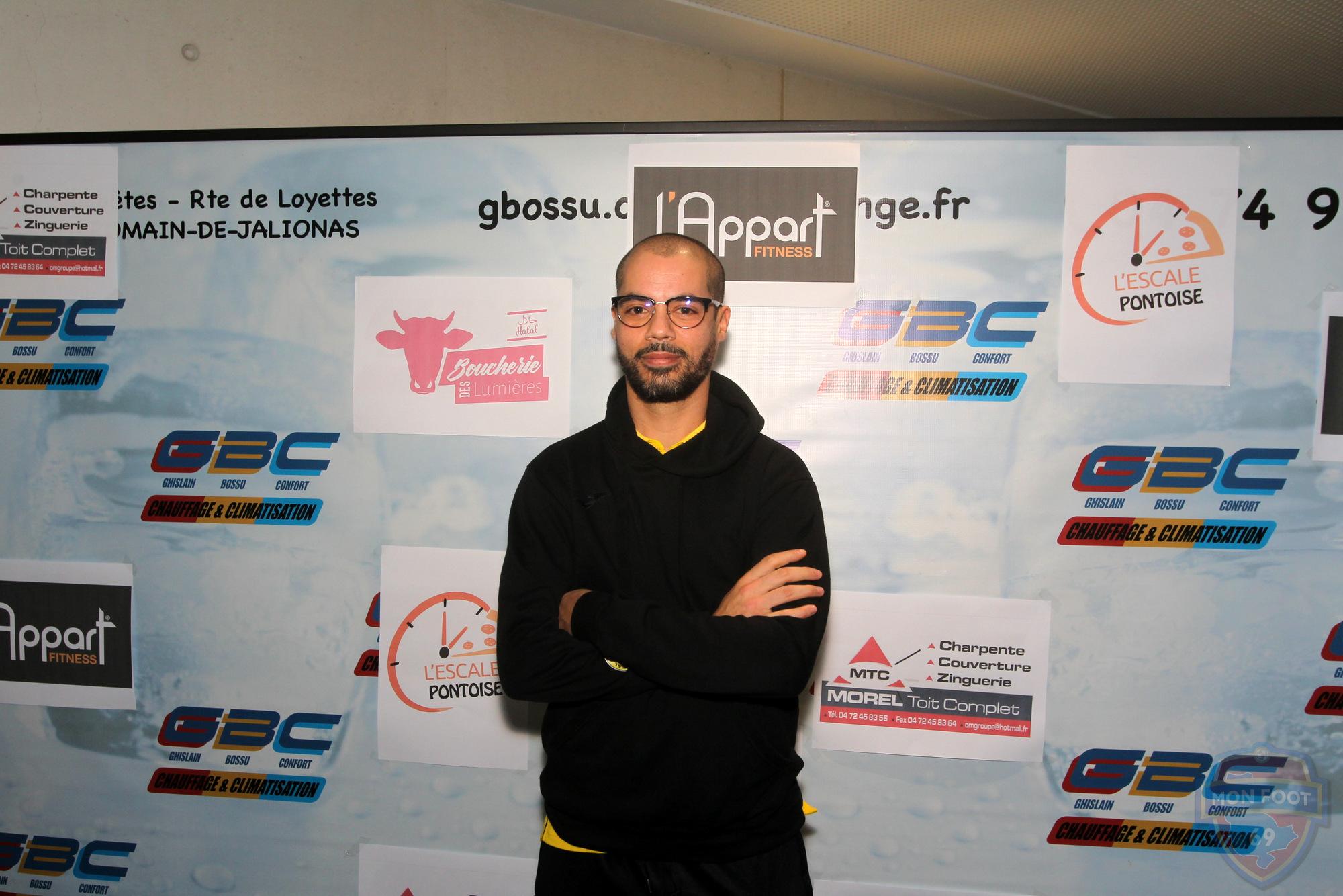 """Issa Saffi (FC Chavanoz) : """"Une première mi-temps vraiment en-dessous de tout ce qu'on a pu faire"""""""