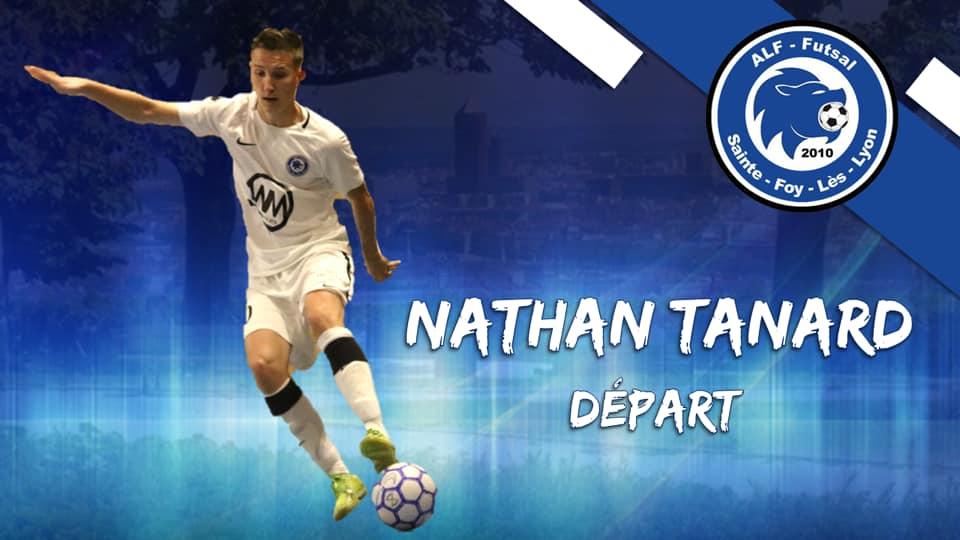 Nathan Tanard rejoint Bourg-Péronnas (N1)