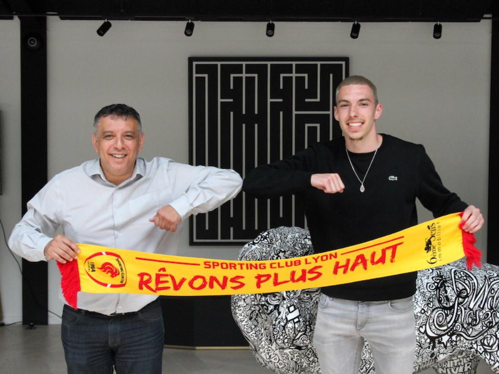 National | Ivann Botella rejoint le SC Lyon