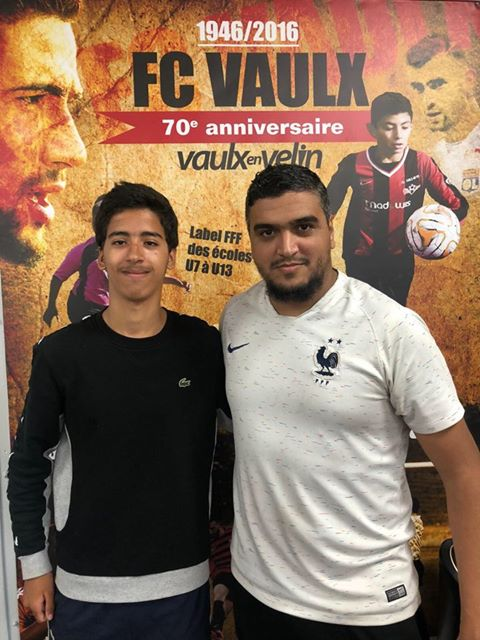 Hamza Moukaddam rejoint le FC Vaulx