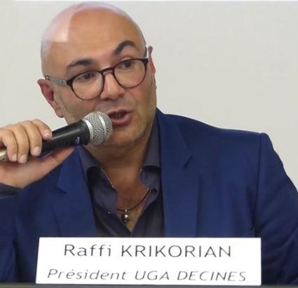 Entretien avec Raffi KRIKORIAN, président de l'UGA Décines