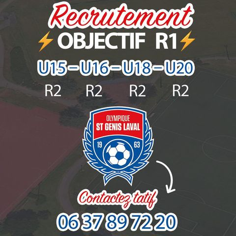 L'OSGL lance sa campagne de recrutement