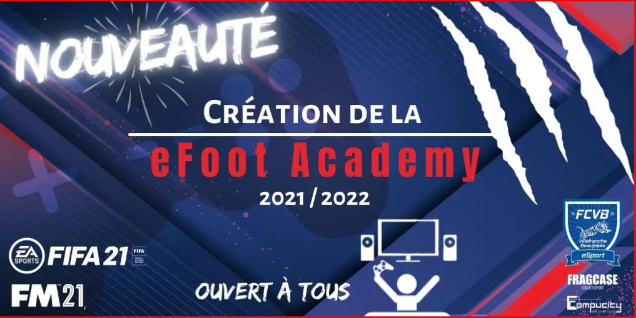 Le FCVB lance sa eFoot Academy