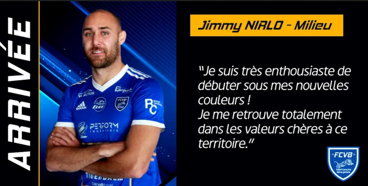 Une première recrue au FC Villefranche Beaujolais