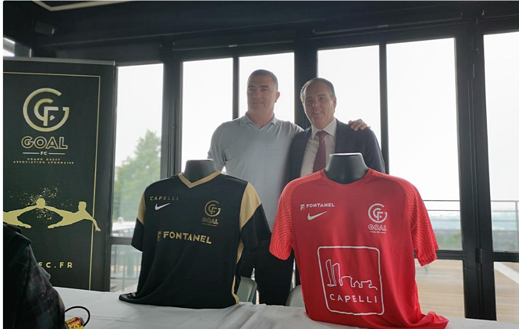 [Communiqué] CAPELLI nouveau partenaire majeur du GOAL FC