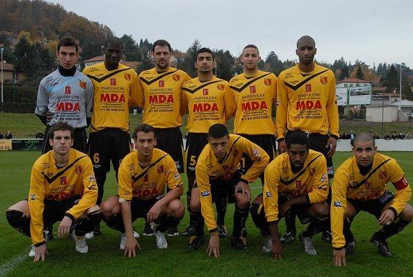 Avec MDA Chasselay, en CFA2 la saison suivante (2009-2010)