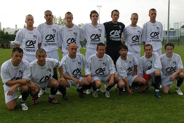 Avec l'US Millery-Vourles, finaliste de la coupe du Rhône 2009