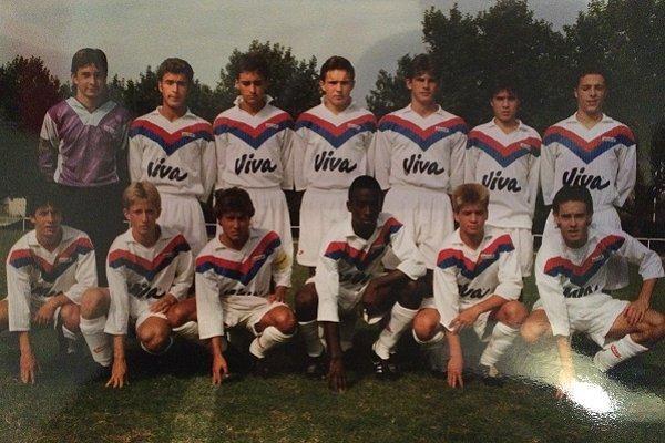 Les U17 de l'OL Champion de France