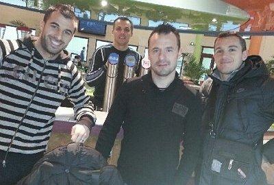 Avec Dito (Yoann Di Tommaso) et Nico (Velut), les potes