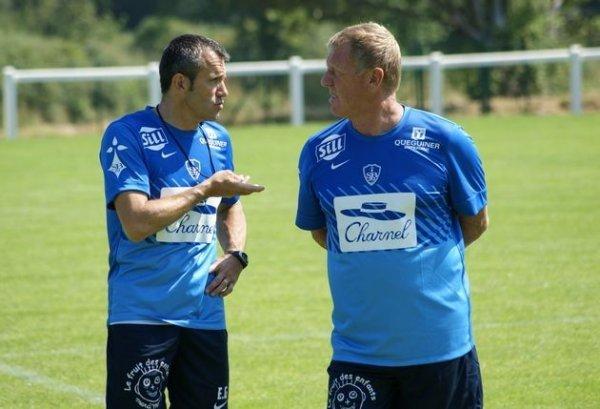 Eric Guichard et 'Sir' Alex... sous le soleil Breton (Crédit www.sb29.com)