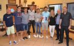 L'équipe Jérémy Berthod, vainquer 2017 des Gentlemen du Foot-Souvenir Aïssa Bousouar