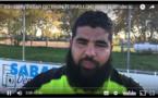 D3 - Réaction de Samy ZABAR (SC BRON TERRAILLON) après la défaite au RC BELIGNY