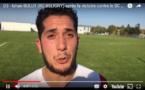 D3 - Réaction de Ishan BULUT (RC BELIGNY) après la victoire contre le SC BRON TERRAILLON