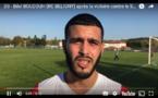 D3 - Réaction de Bilel BOUDOUH (RC BELIGNY) après la victoire contre le SC BRON TERRAILLON