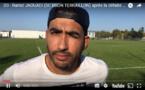 D3 - Réaction de Ramzi JAOUADI (SC BRON TERRAILLON) après la défaite au RC BELIGNY