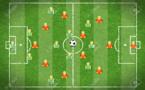 FC VILLEFRANCHE - Le GROUPE pour la réception de l'AS YZEURE, avec le meilleur buteur de R1