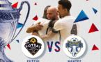 Coupe de France Futsal - Ventes des places ouvertes pour FS MONT d'OR - NANTES METROPOLE