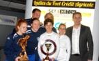 Ladies du Foot Crédit-Agricole - CHAZAY FC première !