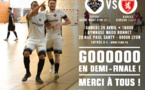 Coupe Nationale Futsal - FS MONT d'OR communique