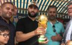 Les ECHOS des CLUBS - Nabil FEKIR ramène la Coupe du Monde à JOMARD !