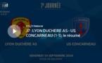 N1 (vidéo) - Le résumé vidéo de LYON-DUCHERE AS - US CONCARENAU
