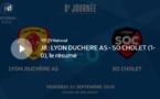 N1 (8ème journée) - Le résumé vidéo de LYON-DUCHERE AS - SO CHOLET
