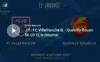 N1 (11ème journée) - Le résumé vidéo de FC VILLEFRANCHE-QUEVILLY-ROUEN