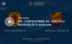 N1 (18ème journée) - Le résumé vidéo de LYON-DUCHERE AS - QUEVILLY RM