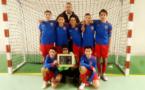 FC Vénissieux Futsal - Les U13 entrent dans l'histoire du nouveau club