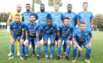 FC VILLEFRANCHE - Le groupe pour la réception du FC PAU