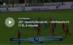 N1 (27ème journée) - Suivez QUEVILLY-ROUEN -  FC VILLEFRANCHE en direct vidéo
