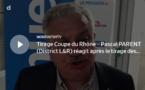 Coupe du Rhône – Pascal PARENT (District L&R) réagit après le tirage des QUARTS