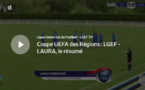 Coupe UEFA des REGIONS - Le résumé vidéo de GRAND-EST - LAuRA Foot