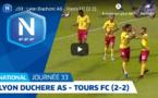 N1 (33ème journée) - Le résumé vidéo de LYON-DUCHERE AS - FC TOURS