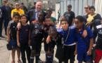 Les ECHOS des CLUBS - Gérard COLLOMB en visite au FC GERLAND