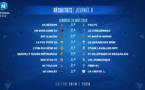 National : classement et résultats de la 4ème journée