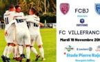 Le match du FC Villefranche en coupe de France aura lieu mardi
