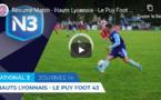 Hauts-Lyonnais : le résumé vidéo de la victoire renversante contre le Puy B