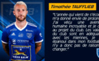 [Mercato] Timothée Taufflieb prolonge avec le FCVB
