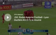 N1 (34ème journée) - Le résumé vidéo de RODEZ AF - LYON-DUCHERE AS