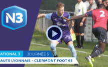 Le résumé vidéo de la victoire de Hauts-Lyonnais face à Clermont Foot B