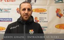 """Mehdi Ghazel (AS Buers) : """"Le pire ce serait de se voir trop beaux"""""""